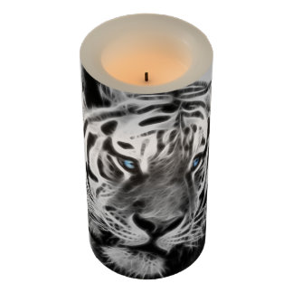 Tigers beauty fractal flameless candle