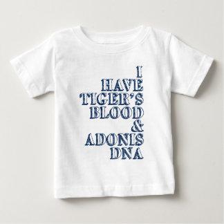 Tiger's blood adonis dna Sheen Baby T-Shirt