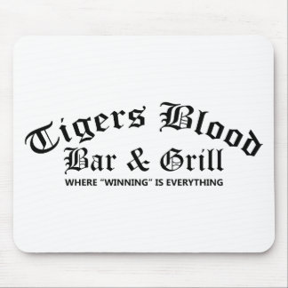 Tigers Blood Bar & Grill Mouse Pad
