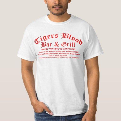 Tigers Blood Bar T Shirt