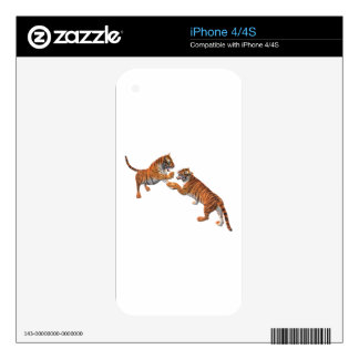 Tiger's Challenge iPhone 4 Decal