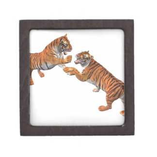 Tiger's Challenge Jewelry Box