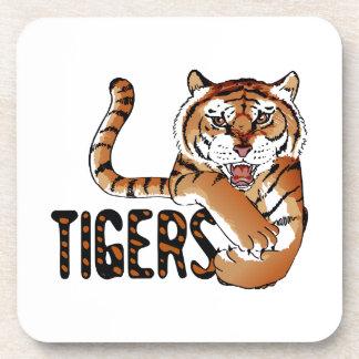 TIGERS BEVERAGE COASTERS