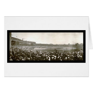 Tigers Cubs Series Photo 1907 Greeting Card