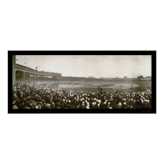 Tigers Cubs Series Photo 1907 Poster