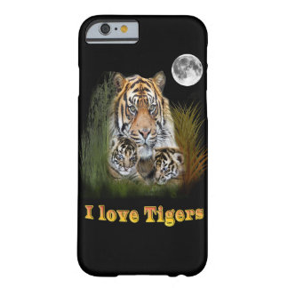 Tigers designs barely there iPhone 6 case