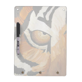 Tiger's Eye (Acrylic by Kimberly Turnbull Art) Dry Erase Board