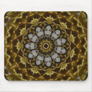 Tiger's Eye Eleven Mosaic Mouse Pad