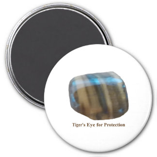Tiger's Eye for Protection Magnet
