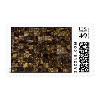 Tigers Eye Mosaic Stamp