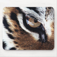 Tiger's eye mouse pad