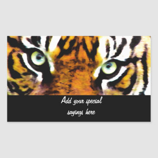 TIGER'S EYE'S_ STICKERS