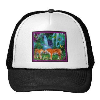 Tigers Fantasy Forest Cap Trucker Hat
