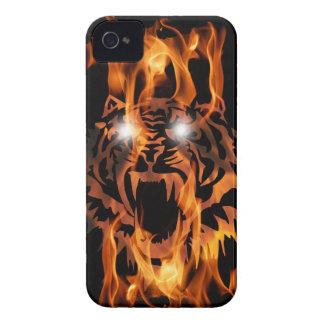 TIGER'S FIERY ROAR iPhone 4 Case-Mate CASES