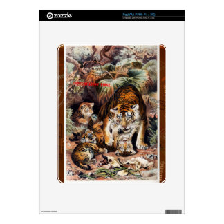 Tigers for Responsible Travel Decal For iPad