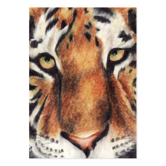 Tiger's Gaze ACEO Art Trading Cards Business Card