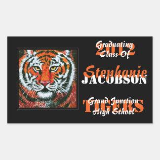 Tigers Graduation Announcement stickers