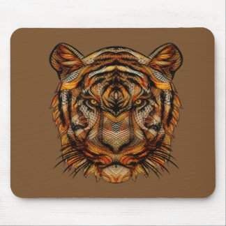 Tiger's Head 1a Mouse Pad