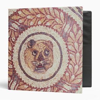 Tiger's head, Roman mosaic, early 4th century Binder