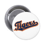 Tigers in Custom Colors Pins