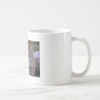 TIGERS IN LOVE CLASSIC WHITE COFFEE MUG