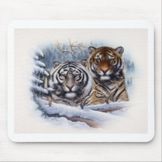 Tigers in the Mist Mouse Pad