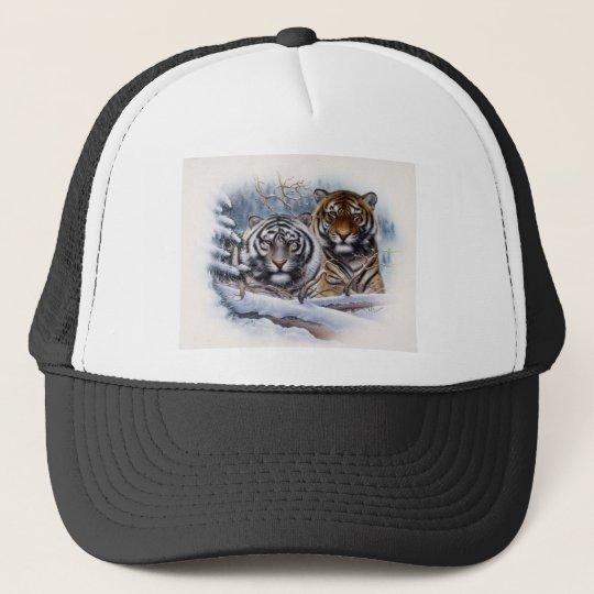 Tigers in the Mist Trucker Hat