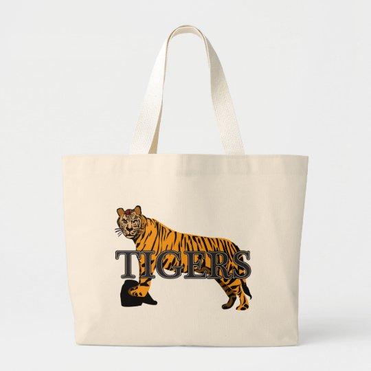 Tigers Large Tote Bag
