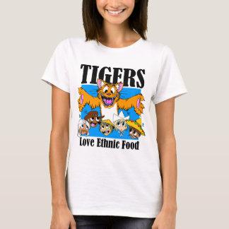 Tigers like Ethnic Food T-Shirt