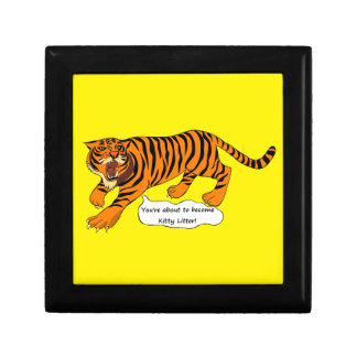 Tigers, Lions and Puns Gift Box