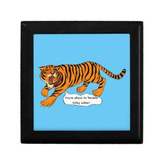 Tigers, Lions and Puns Jewelry Box