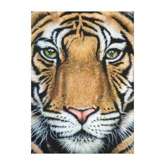 Tiger's load Roar Canvas Print