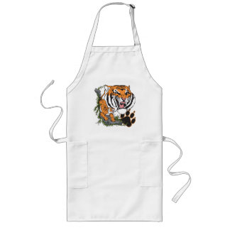 Tigers Long Apron