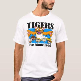 Tigers Love Ethnic Food T-Shirt