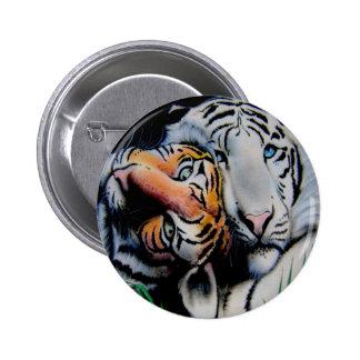 TIGERS Love Tshirt Original Artist Design D. Sears Pins