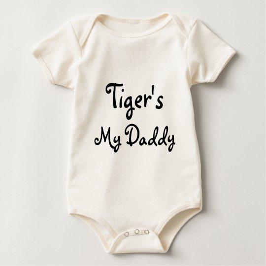 Tiger's, My Daddy Baby Bodysuit