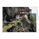 tiger's nest greeting card