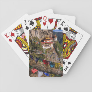 Tiger's Nest Monastery, Bhutan Playing Cards