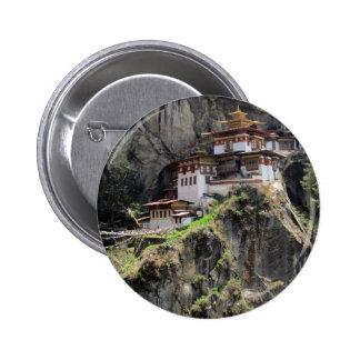 tiger's nest pinback button