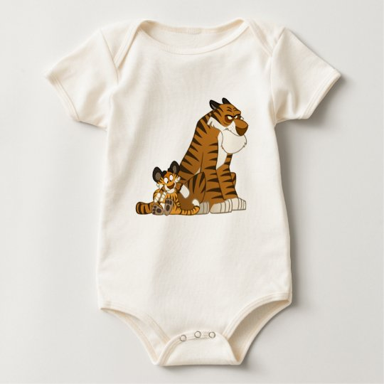 Tigers on a Baby Baby Bodysuit