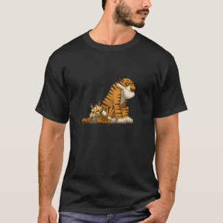 Tigers on a T-Shirt