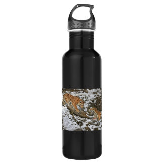 Tigers on Guard Water Bottle