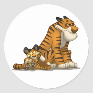 Tigers on Stickers