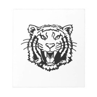 Tigers Outline Notepads