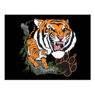 Tigers Post Card