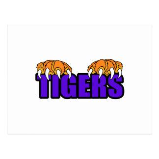 Tigers Postcard