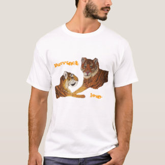 Tigers Purrfect Love T-Shirt