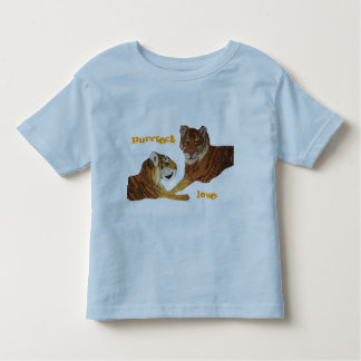 Tigers  Purrfect Love Toddler T-shirt