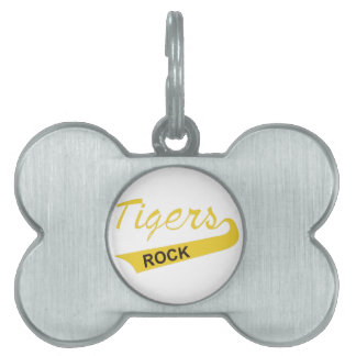 Tigers Rock Pet Tag