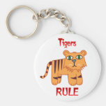 Tigers Rule Keychains